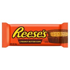 REESE'S 2 CUP PEANUT BUTTER CUPS 42g (36 PACK)