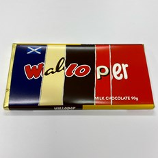RUDE WRAPPERS MILK CHOCOLATE WALLOPER 90g