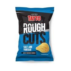 TAYTO ROUGH CUTS SALT AND VINEGAR 50g (36 BAGS)