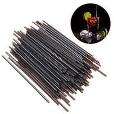 COCKTAIL STRAWS-SIP STRAW 130MM