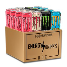 *MONSTER ENERGY DRINK FULL SUGAR MONTHLY SUBSCRIPTION BOX CLICK FOR DETAILS   Click item for more info