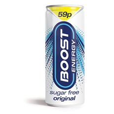 BOOST ENERGY 59P SUGAR FREE