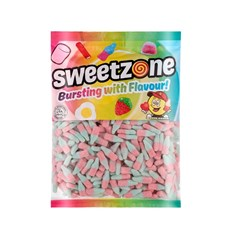 SWEETZONE 1kg BAG FIZZY BLUE BOTTLES