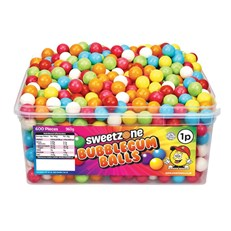 SWEETZONE 1P TUBS Bubblegum Balls