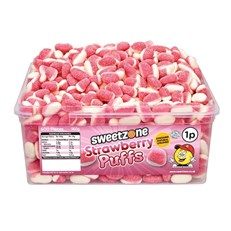 SWEETZONE 1P TUBS Strawberry Puffs
