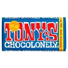 TONYS CHOCOLONELY EXTRA DARK 70% 180g
