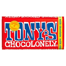 TONYS CHOCOLONELY MILK CHOCOLATE 180g