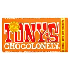 TONYS CHOCOLONELY MILK CARAMEL SEA SALT 180g