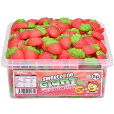SWEETZONE 5P TUBS Giant Strawberries