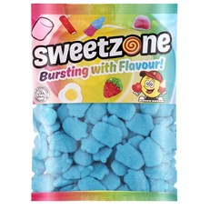 SWEETZONE 1KG BAG FOAM BLUE RASPBERRIES