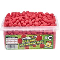 SWEETZONE 1P TUBS Foam Strawberries
