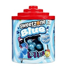 SWEETZONE BLUE TONGUE PAINTER LOLLIES 5p