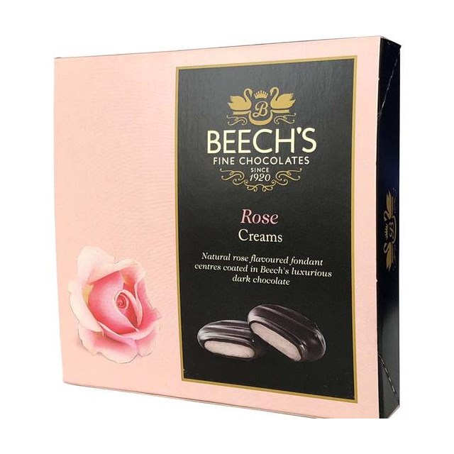 BEECH'S FINE CHOCOLATES ROSE FONDANT 90g