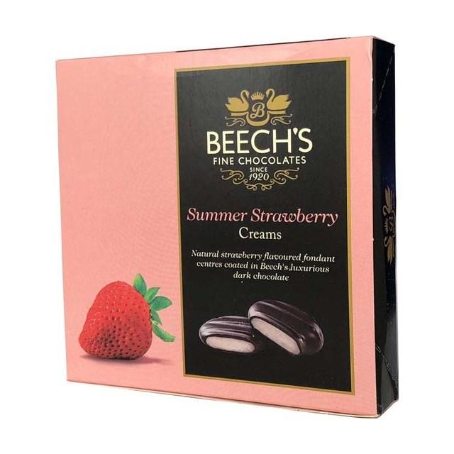 BEECH'S FINE CHOCOLATES STRAWBERRY FONDANT 90g