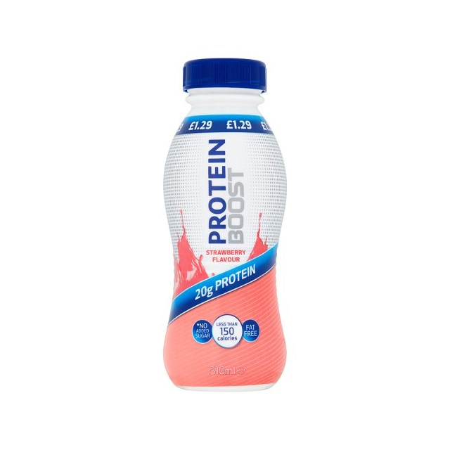 BOOST PROTEIN £1.29 STRAWBERRY