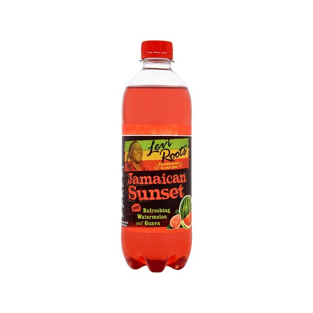 LEVI ROOTS JAMAICAN SUNSET 500ml £1 (12 PACK)