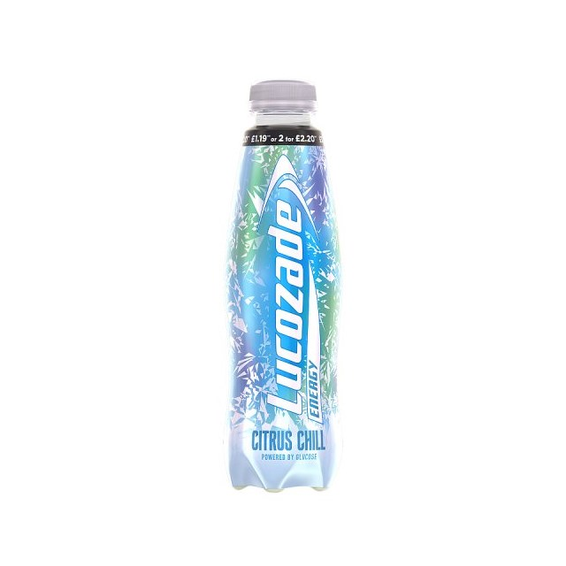 LUCOZADE £1.19/2FOR£2.20 BRAZILLIAN MANDARIN