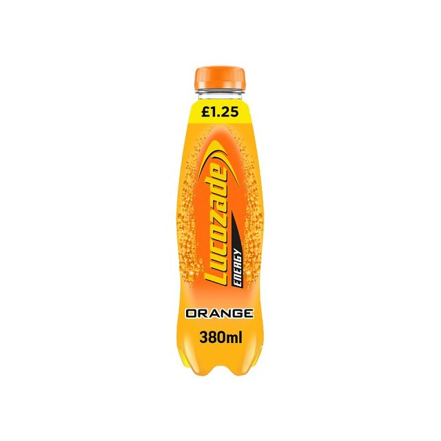 LUCOZADE ENERGY ORANGE            £1.09 2 FOR £2