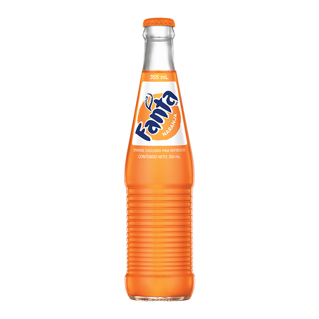 MEXICAN FANTA ORANGE 355ml