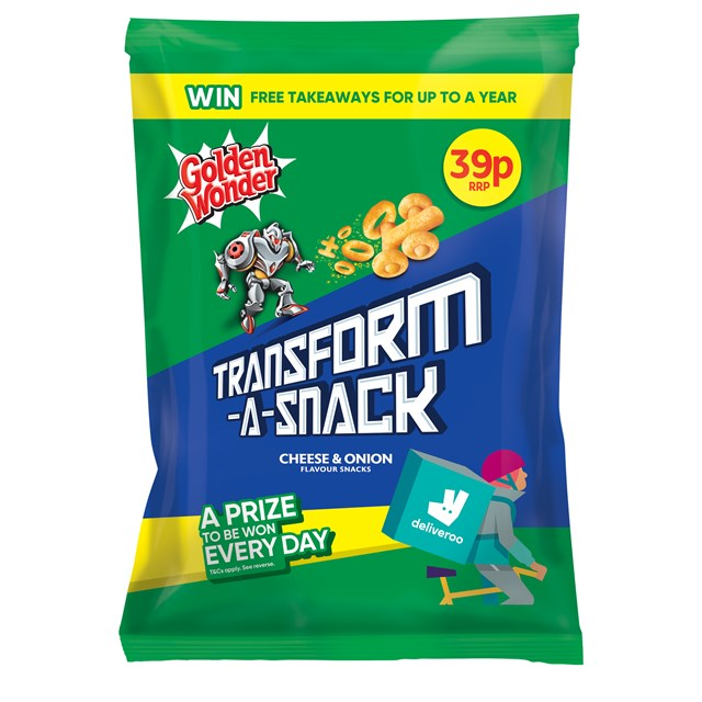 TRANSFORM A SNACK 2 FOR 60P CHEESE & ONION