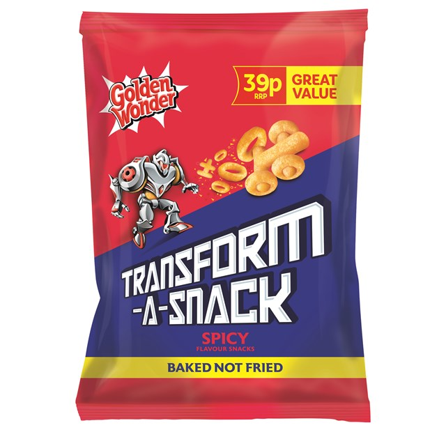 GOLDEN WONDER TRANSFORMERS 39P SPICY