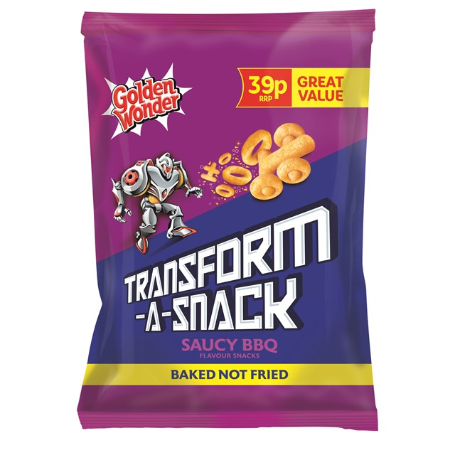 TRANSFORM A SNACK 2 FOR 60P SAUCY BBQ