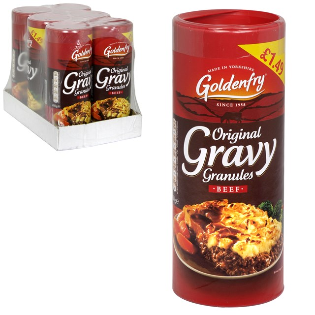GOLDEN FRY GRAVY GRANULES BEEF PM £1.49