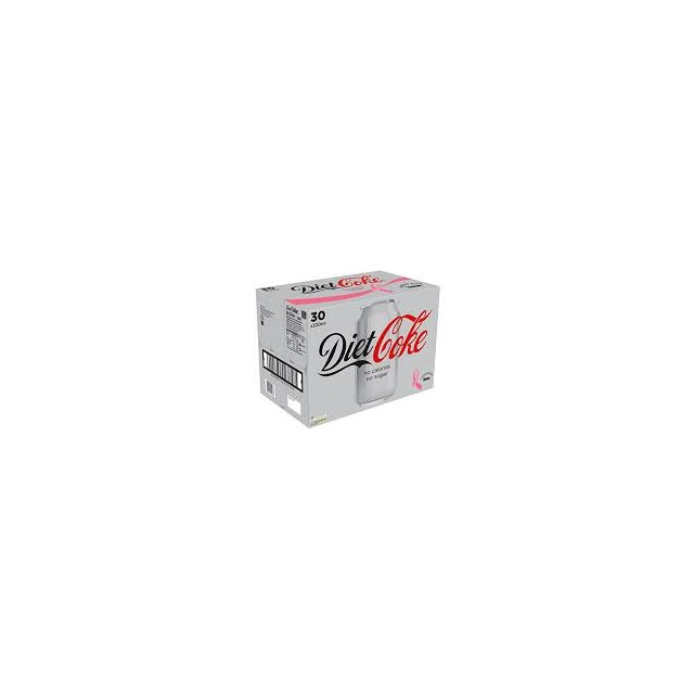 DIET COKE CANS 30PACK
