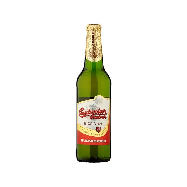 BUDVAR BOTTLES
