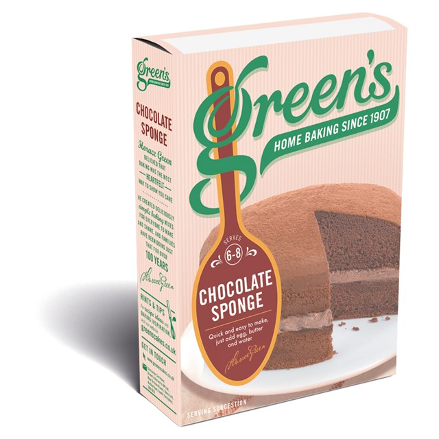 GREENS CHOCOLATE SPONGE MIX