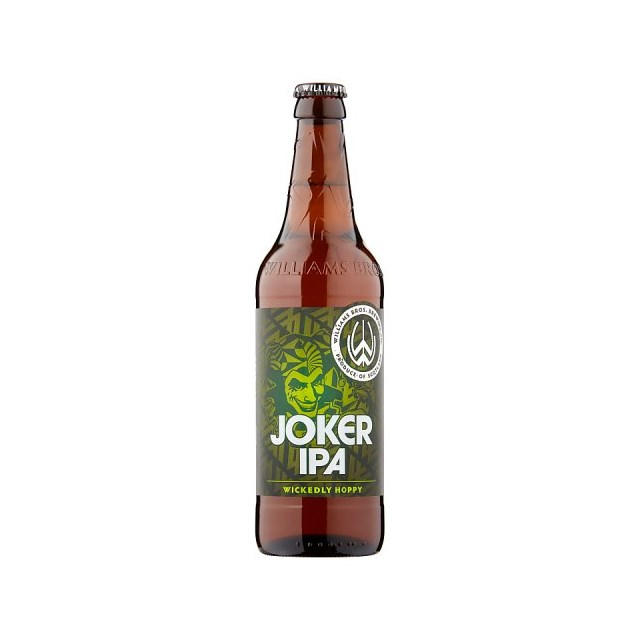 WILLIAMS BROTHERS JOKER IPA 5.6%