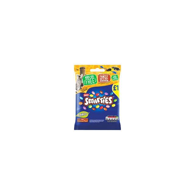SMARTIES 87g £1 BAGS (12 PACK)
