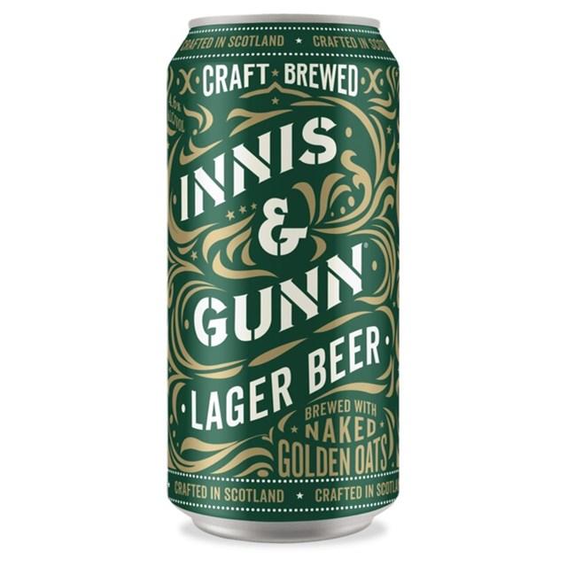 INNIS & GUNN LAGER CANS