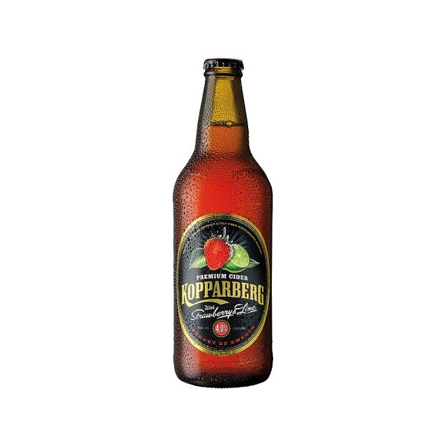 KOPPARBERG STRAWBERRY + LIME