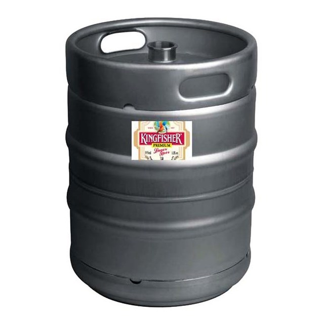 KINGFISHER LARGE KEG
