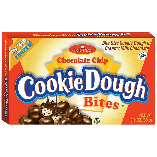 COOKIE DOUGH BITES CHOC CHIP 3.1oz 88g
