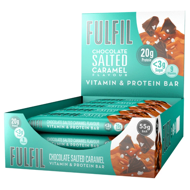 FULFIL PROTEIN BAR CHOCOLATE SALTED CARAMEL 55g (15 PACK)
