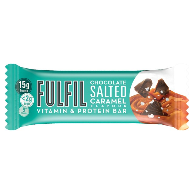 FULFIL PROTEIN BAR CHOCOLATE SALTED CARAMEL 40g (15 PACK)