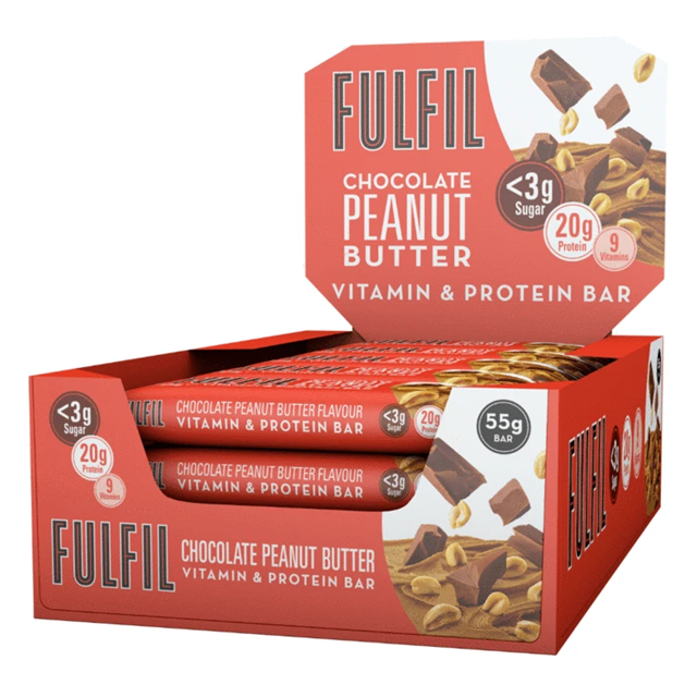 FULFIL PROTEIN BAR CHOCOLATE PEANUT BUTTER 55g (15 PACK)