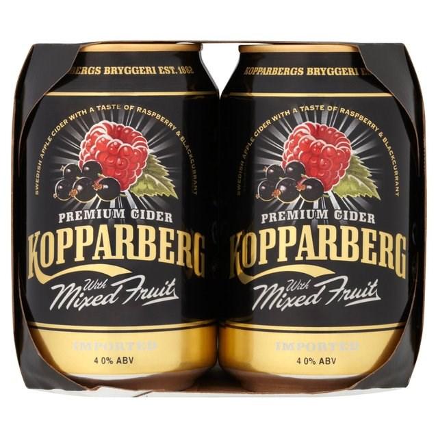 KOPPARBERG MIXED FRUIT 4PK 330ml CANS