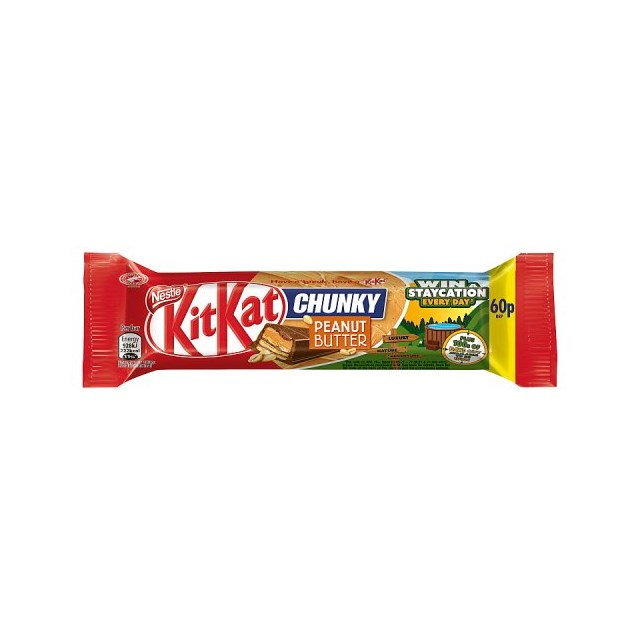 KIT KAT CHUNKY PEANUT 2FOR£1