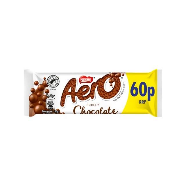AERO MILK 36g  2 FOR £1 (24 PACK)