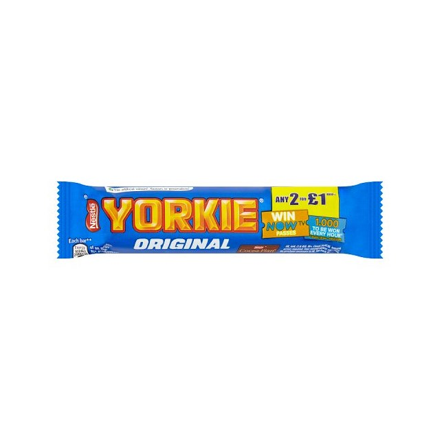 YORKIE MILK 2 FOR £1