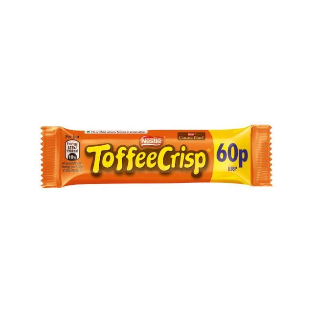 TOFFEE CRISP 2 FOR £1