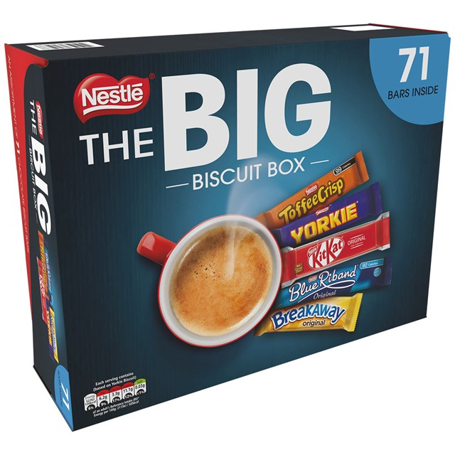 NESTLE BIG BISCUIT BOX SELECTION 71 Biscuits 1.6kg
