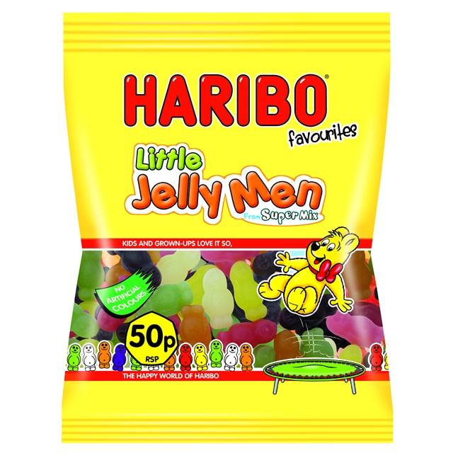 HARIBO 50P LITTEL JELLY MEN