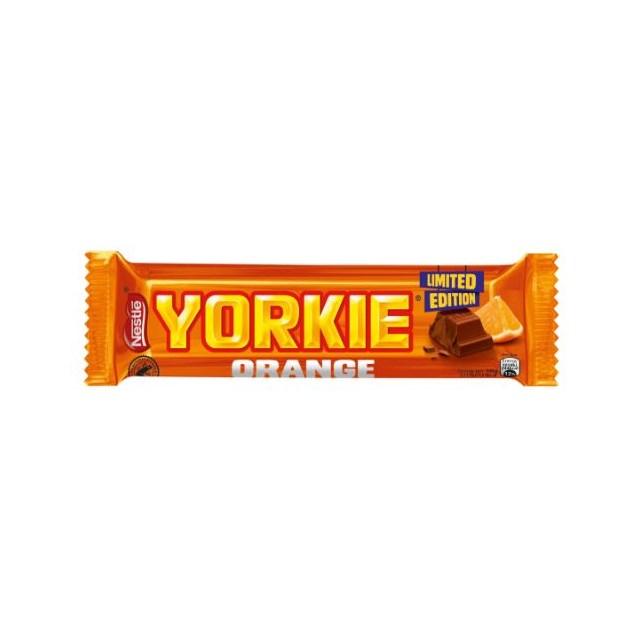 YORKIE MILK CHOCOLATE ORANGE 46g (24 PACK)