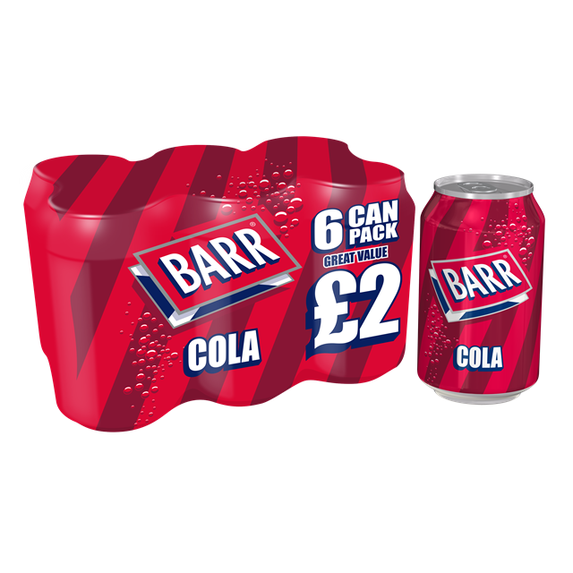 BARRS COLA 6PACK PM £2