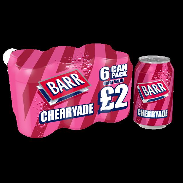 BARRS CHERRYADE 4 x 6PACK PM £2