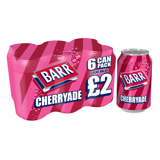 BARRS CHERRYADE 6PACK PM £2